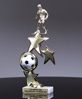 Picture of Distinction Soccer Trophy