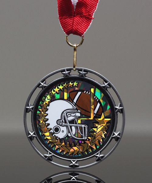 Picture of Football Star Medal