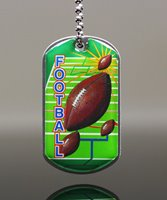 Picture of Football Dog Tag