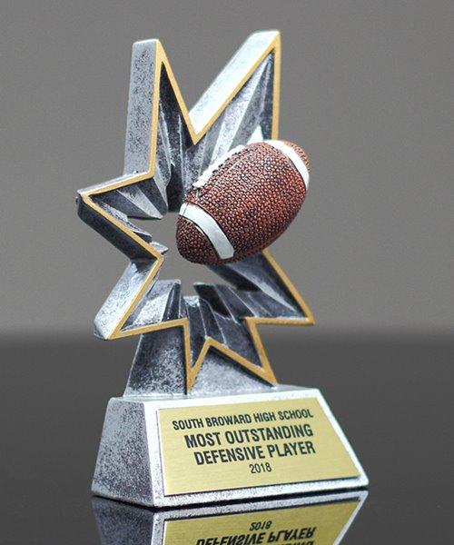 Picture of Bobble Action Football Award
