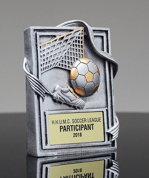 Picture of Soccer Wedge Award