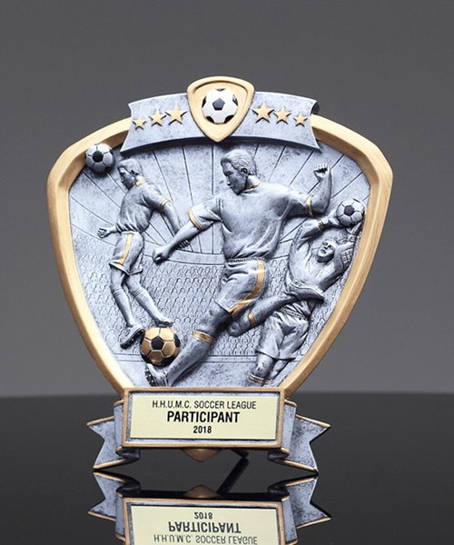 Picture of Soccer Shield Trophy