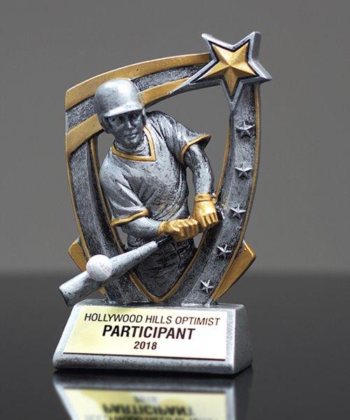 Picture of Baseball 3D Star Award