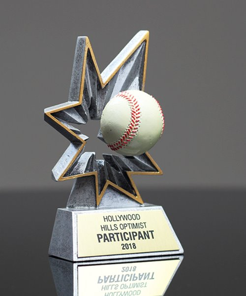 Picture of Bobble Action Baseball Award