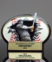 Picture of Burst-Thru Baseball Award