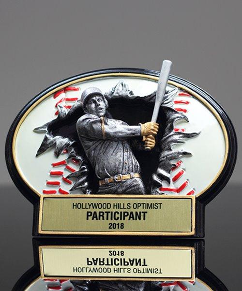 Picture of Burst-Thru Baseball Award