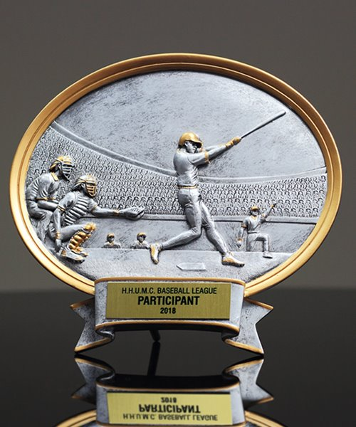 Picture of Silverstone Oval Baseball Award