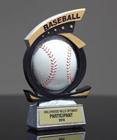 Picture of All-Star Baseball Award