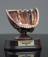 Picture of Bronzestone Baseball Glove Award