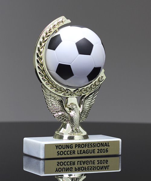 Picture of Squeezable Soccer Spinner Trophy