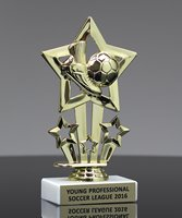 Picture of Sports Star Soccer Trophy