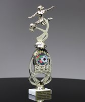 Picture of Sport Motion Soccer Trophy with StarBurst Riser