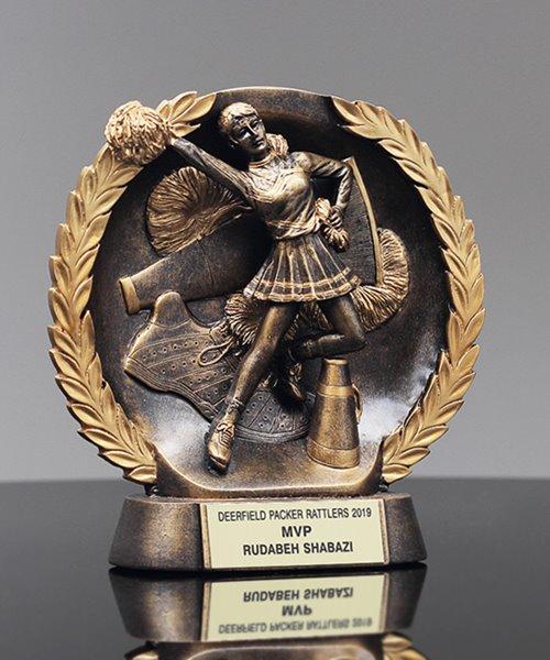 Picture of Bronzestone Cheerleading Award