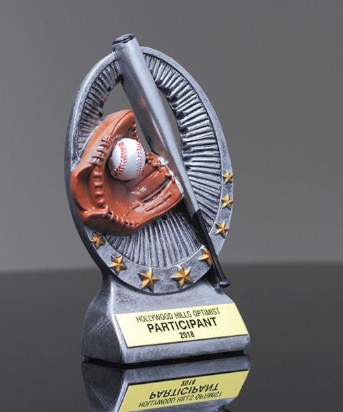 Picture of Baseball Star Resin
