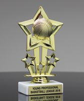 Picture of Sports Star Basketball Trophy