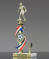 Picture of Stars and Stripes Soccer Trophy