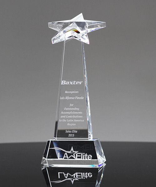 Picture of Top Star Crystal Award