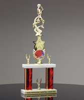 Picture of Double Post Basketball Trophy