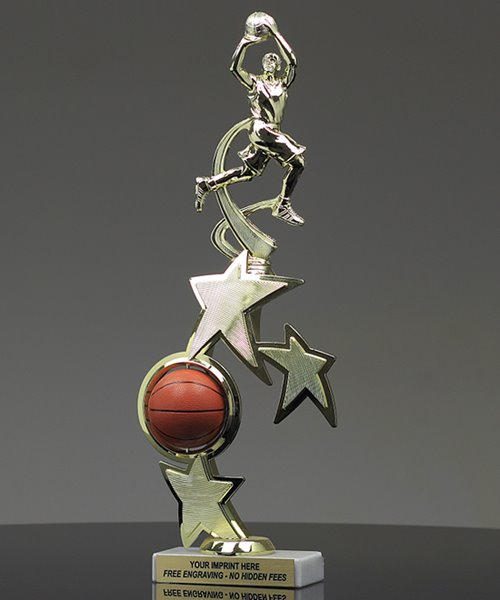 Picture of Distinction Basketball Trophy