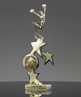 Picture of Distinction Cheerleader Trophy
