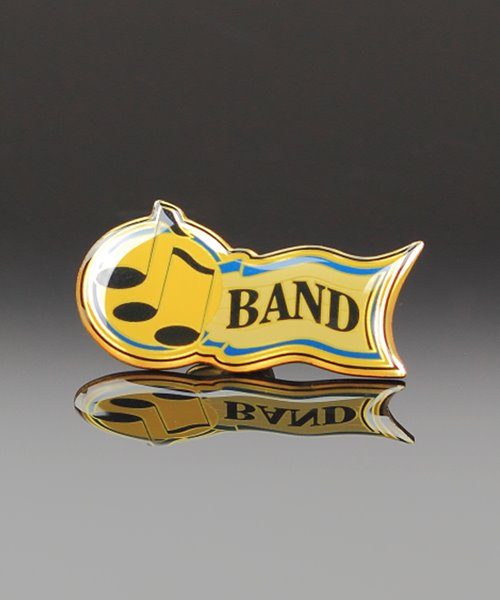 Picture of Band Award Pin
