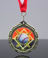 Picture of Epoxy-Domed Baseball Medals