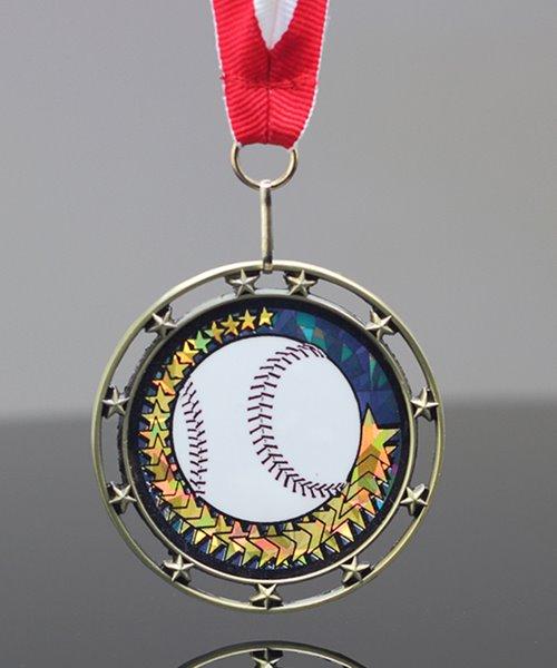 Picture of Baseball Star Medal
