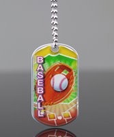 Picture of Baseball Dog Tag