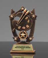 Picture of Star Shield Art Trophy