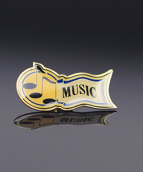 Picture of Music Award Pin
