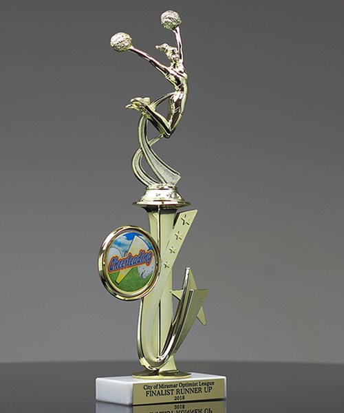 Picture of Cheerleader Synergy Trophy