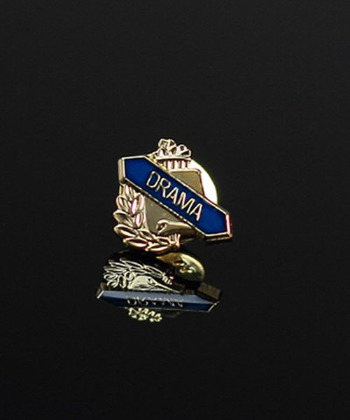 Picture of Drama Lapel Pin