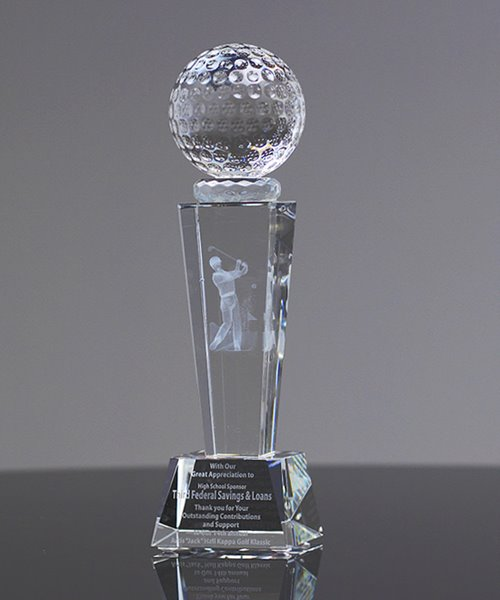 Picture of Collegiate Golf Crystal