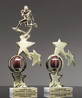 Picture of Superstar Football Spinner Trophy