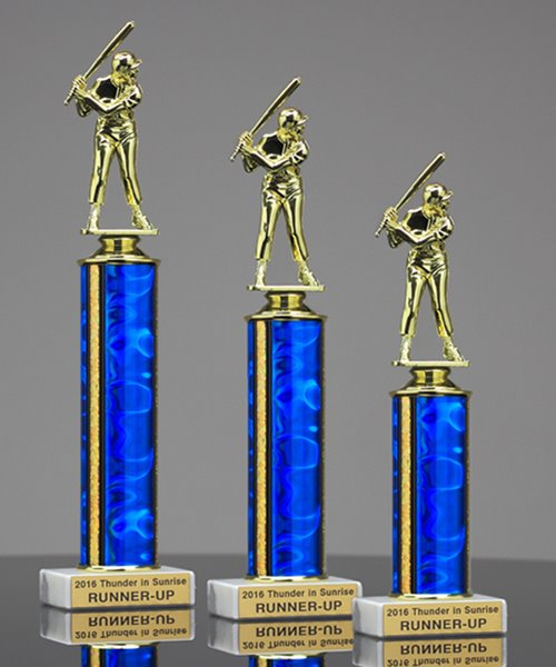 Picture of Value Line Baseball Trophy