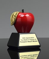 Picture of Gallery Series Red Apple Award