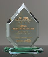 Picture of Regal Diamond Jade Crystal Award
