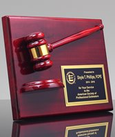 Picture of Premium Gavel Plaque