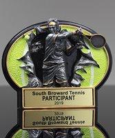 Picture of Burst Through Tennis Award