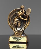 Picture of Saturn Tennis Trophy