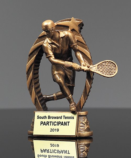 Picture of Star Flame Tennis Trophy