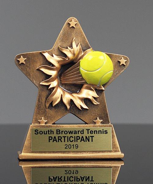 Picture of StarBurst Tennis Trophy