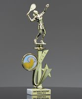 Picture of Tennis Star Spinner Trophy