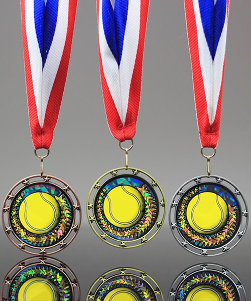 Picture of Tennis Star Medal