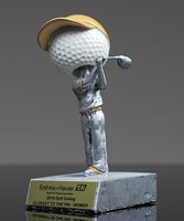Picture of Silverstone Golf Bobble Head