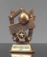 Picture of Star Shield Volleyball Trophy