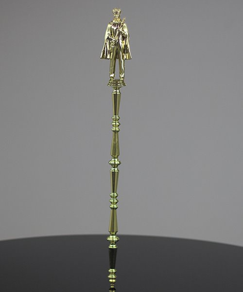 Picture of King and Queen Scepter