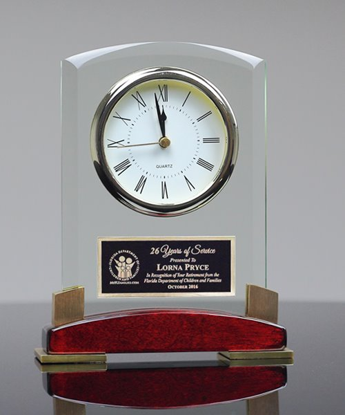 Picture of Beveled Glass Clock
