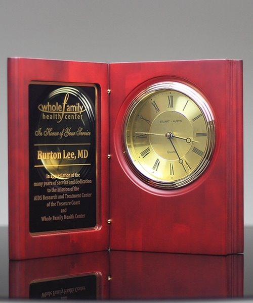Picture of Rosewood Book Clock