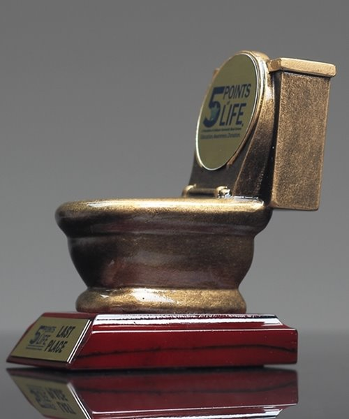 Picture of Toilet Bowl Award